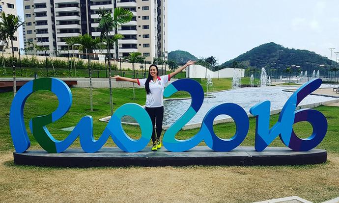 Vilmare Mojica, jogadora de vôlei de Porto Rico (Foto: Reprodução / Twitter)