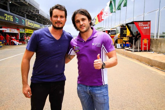 Rodolpho e Xandy Mattheis, chefes da equipe (Foto: Matheus Alves)