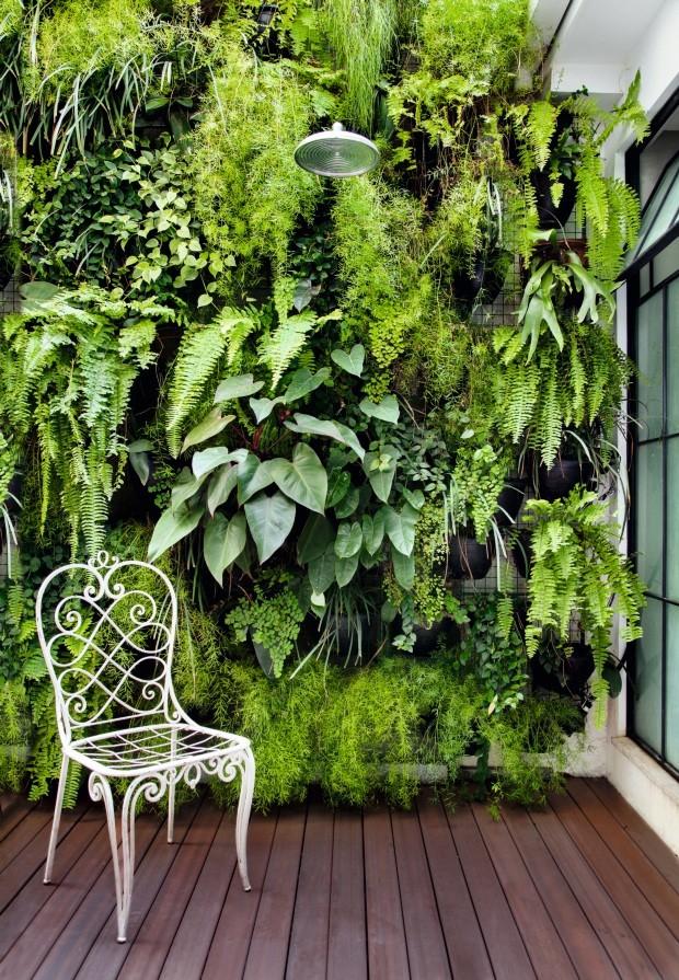 7 jardins verticais para se inspirar casa e jardim Plantas para paredes verdes