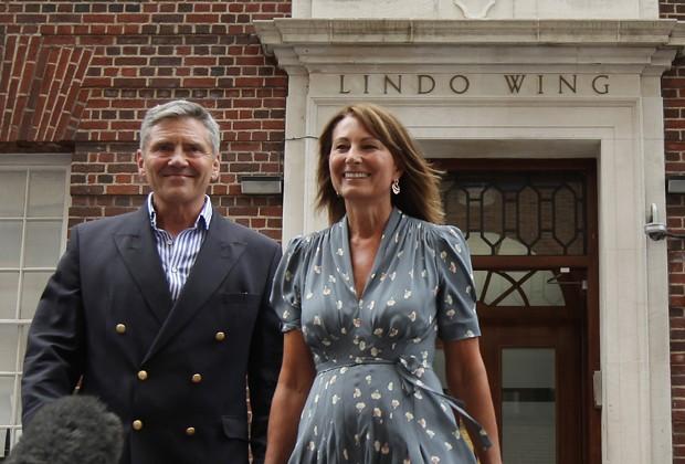 Michael e Carole Middleton (Foto: Getty Images)