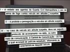 Guarda Civil de SP é proibida de perseguir e atirar em carros suspeitos