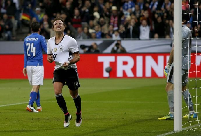 Gotze Alemanha x Itália (Foto: Reuters)
