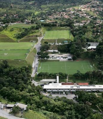 Visão do alto da Cidade do Galo (Foto: Bruno Cantini / Flickr do Atlético-MG)