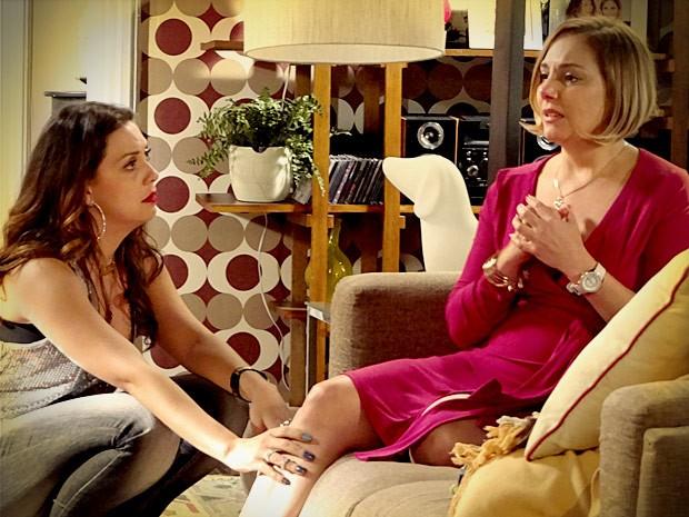 Monalisa quer refazer sua vida e ter um filho com Silas (Foto: Avenida Brasil / TV Globo)