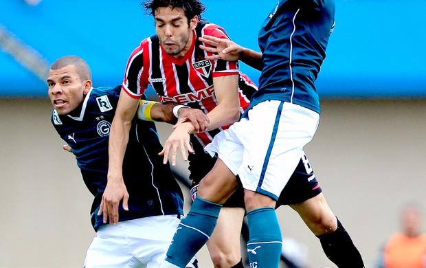 Kaká no jogo São Paulo x Goiás (Foto: Bruno Spada / Agência Estado)