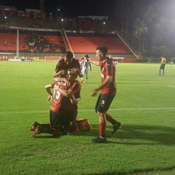 Vitória da Conquista x Flamengo de Guanambi (Foto: Moysés Suzart /Divulgação/EC Vitória)