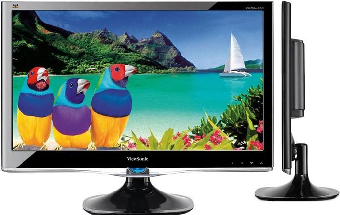 Monitor LCD gasta menos comparado ao monitor de tubo (Foto: Divulgação)