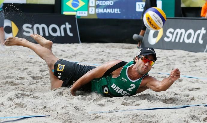 Bruno Schmidt, jogador de vôlei de praia (Foto: Divulgação/FIVB)