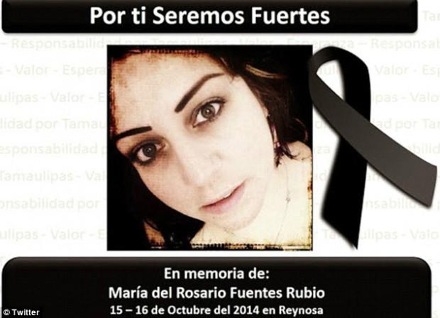 SITE COMANDADO PELO VÍTIMA FEZ HOMENAGEM APÓS SUA MORTE (Foto: FACEBOOK)