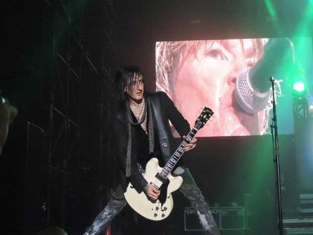 Guns N'Roses no Recife. (Foto: Luna Markman / G1)