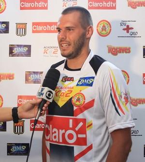 Deola, goleiro do Atlético Sorocaba (Foto: Divulgação / CA Sorocaba)