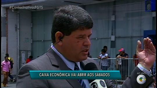 Caixa Econômica de Petrolina abrirá aos sábados para esclarecer FGTS