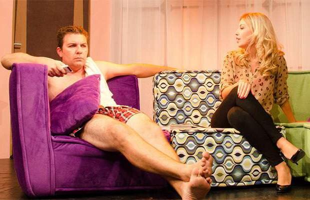 """A peça """"Férias Conjugais"""" ganha o palco do Teatro Lala Schneider, neste fim de semana, em Curitiba (Foto: Divulgação)"""
