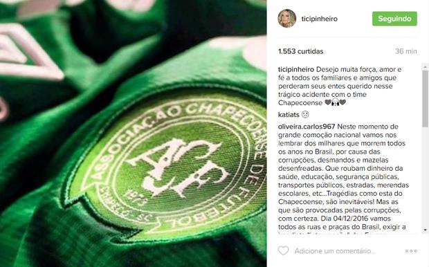 Ticiane Pinheiro (Foto: Reprodução / Instagram)
