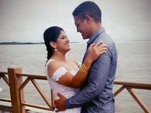 Casal começaou a namorar em fevereiro de 2014 (Foto: Arquivo Pessoal/Divulgação)