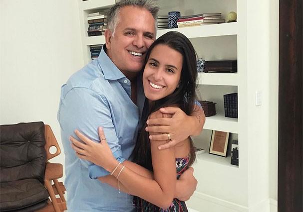 Orlando Morais e a filhota, Ana Morais (Foto: Reprodução/Instagram)
