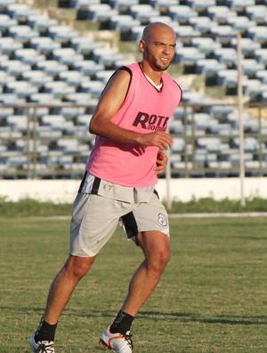 Ney  Mineiro, atacante do Treze (Foto: Leonardo Silva / Jornal da Paraíba)