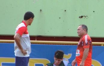 Apesar de problemas, Edson Júnior tem base titular do Rio Branco definida