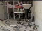 Grupo explode caixas eletrônicos em dois bancos em Itatira, no Ceará