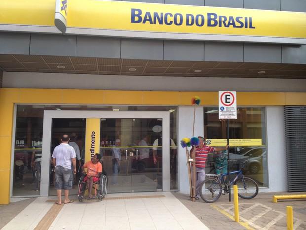banco do brasil (Foto: Yuri Marcel/G1)