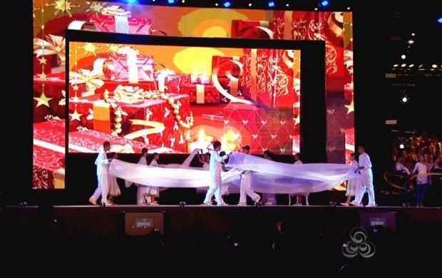 Evento contou com diversas performances teatrais (Foto: Roraima TV)