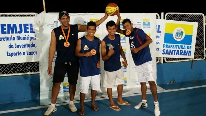 NBL venceu na categoria juvenil (Foto: Divulgação/Associação de Basquetebol de Santarém)