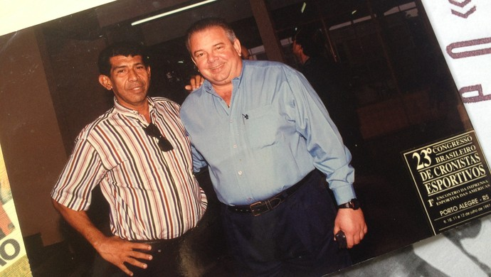 Walter Santos e Luciano do Vale (Foto: Hugo Crippa)