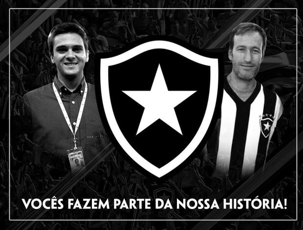 Botafogo dá nome dos jornalistas da TV Globo a duas cabines do Engenhão
