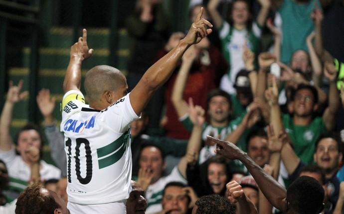Alex Coritiba Palmeiras (Foto: Divulgação/ Site oficial Coritiba)