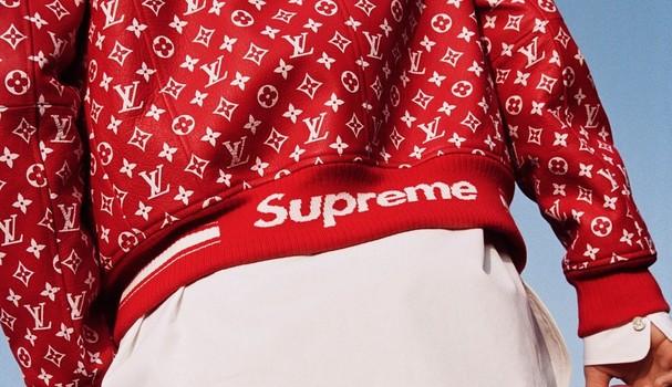 Supreme com Louis Vuitton (Foto: Divulgação)