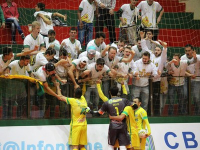 Marechal Rondon x Tubarão, Liga Futsal, 2016 (Foto: Divulgação/Marechal Rondon)