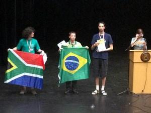 Henrique Fiúza, do ITA, ganhou medalha de ouro (Foto: Divulgação/OBM)