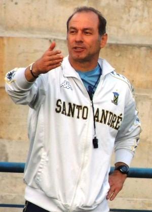 Ivan Izzo, técnico do Santo André (Foto: E.C. Santo André/Divulgação)