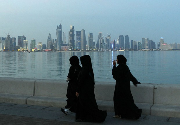 Doha, capital do Catar (Foto: Christof Koepsel/Getty Images)