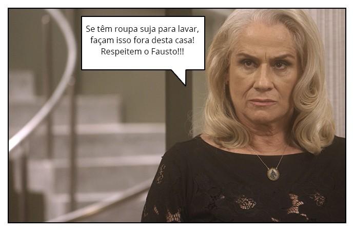 Mág acredita na suposta briga do casal (Foto: TV Globo)