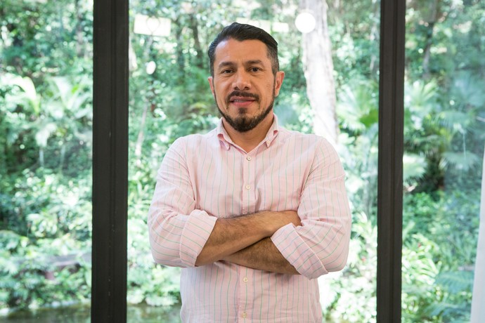 Rômulo criticou o casal Marcos e Emilly (Foto: Felipe Monteiro / Gshow)