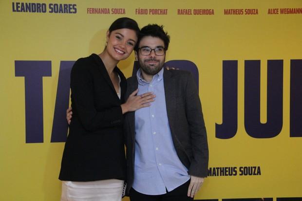 Sophie Charlotte e Matheus Souza (Foto: Wallace Barbosa/AgNews)