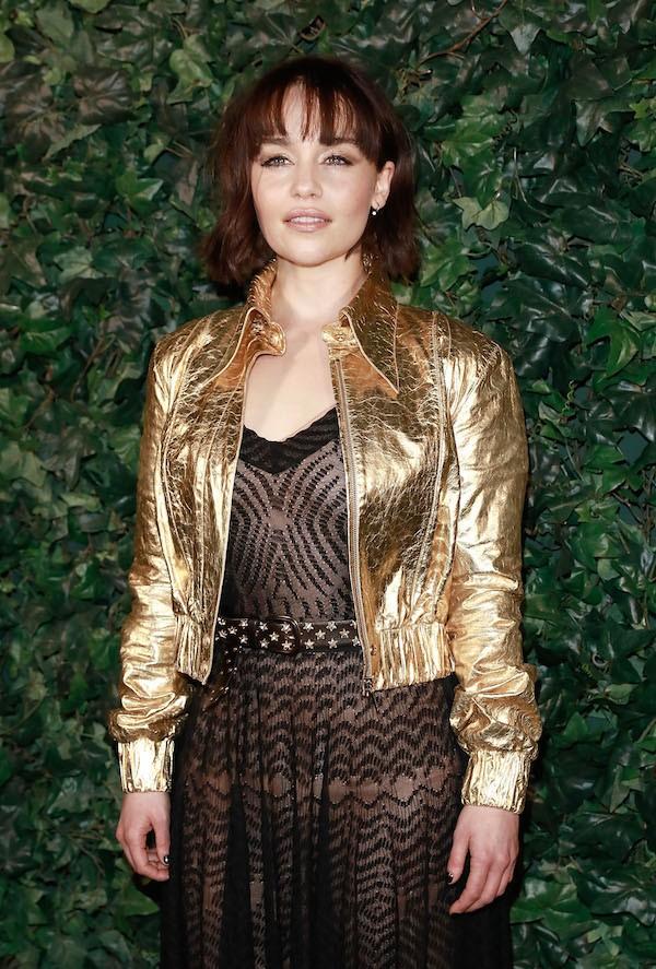 A atriz Emilia Clarke (Foto: Getty Images)