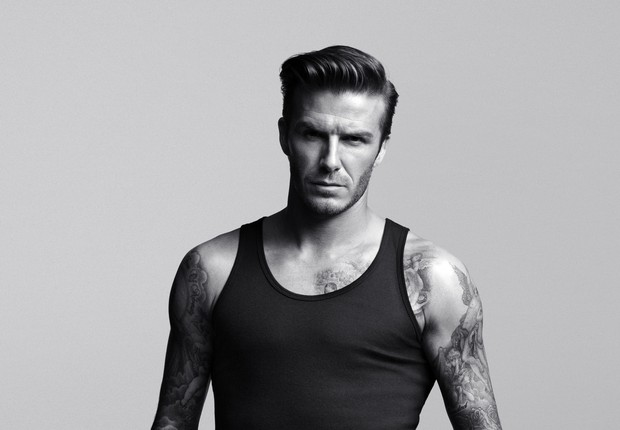 Foto da campanha da nova coleção de David Beckham para a H&M (Foto: Divulgação)