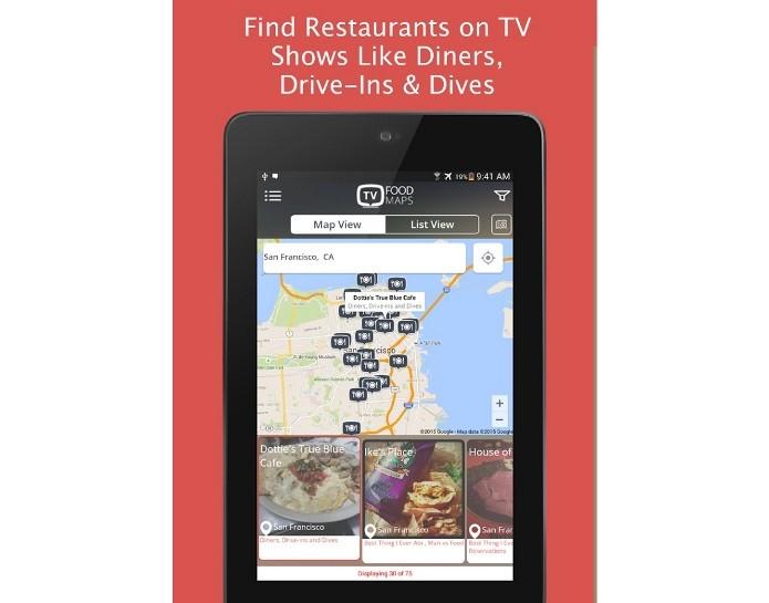 TVFoodMaps traça mapas com os restaurantes dos realities de culinária (Foto: Divulgação)
