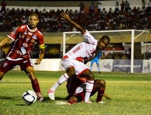 Potiguar x América-RN, no Estádio Nogueirão, em Mossoró (Foto: Wilson Moreno/Gazeta do Oeste)