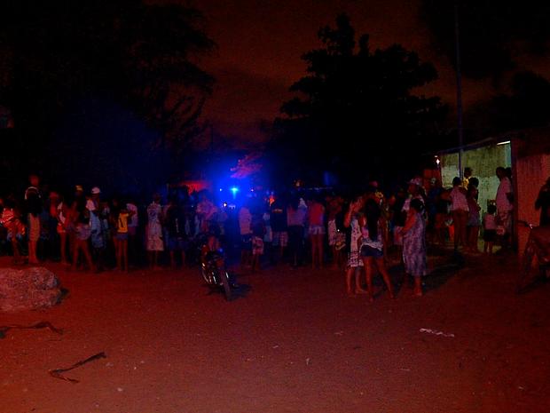 Crime aconteceu em um bar no bairro do Planalto, na Zona Oeste de Natal (Foto: Reprodução/Inter TV Cabugi)