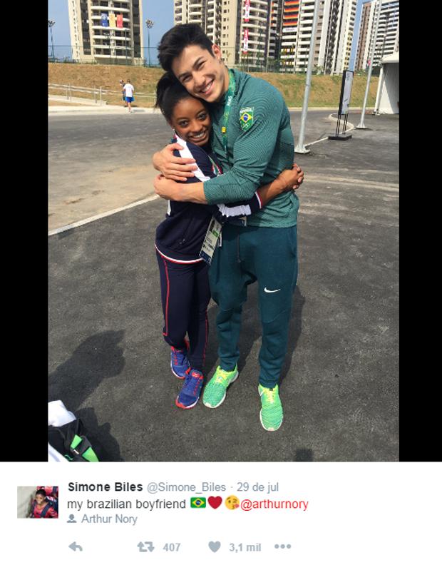 Simone e Nory (Foto: Reprodução/Twitter)