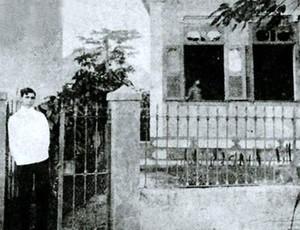 a casa da piedade dinorah na porta (Foto: Reprodução)