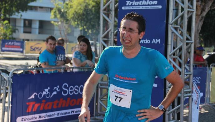 Sesc Triathlon - Circuito Nacional, Etapa Manaus (Foto: Marcos dantas)