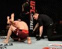 Craig passa sufoco por três rounds, mas finaliza Ankalaev a 1s do fim em Londres