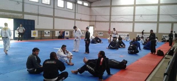 Eco Camp jiu-jitsu Mogi das Cruzes (Foto: Globoesporte.com)