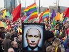Putin nega que exista perseguição a homossexuais na Rússia