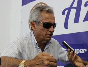 Roberto Mendes presidente do CSA (Foto: Caio Lorena / GloboEsporte.com)