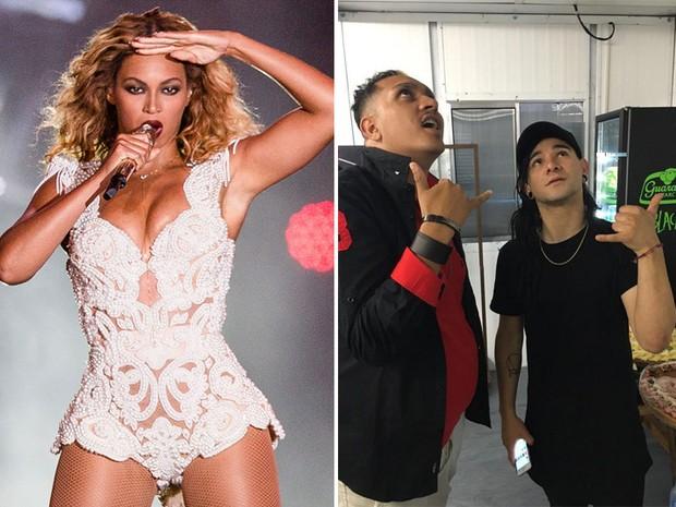 Será que Beyoncé enxerga adiante dos curadores e Skrillex mira mais alto que os produtores ao levar o funk ao horário nobre do Rock in Rio e  (Foto: I Hate Flash / Divulgação Rock in Rio e Raphael Miranda / Divulgação MC Bin Laden)
